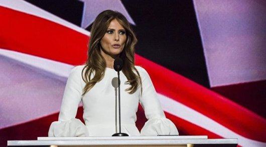 46-летняя супруга Трампа рассказала о планах в должности