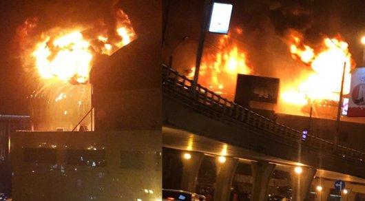 Милиция начала расследование чудовищного пожара вAlmaty Towers