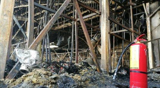 Впожаре в помещении у«Алматы Тауэрс» погибли студенты