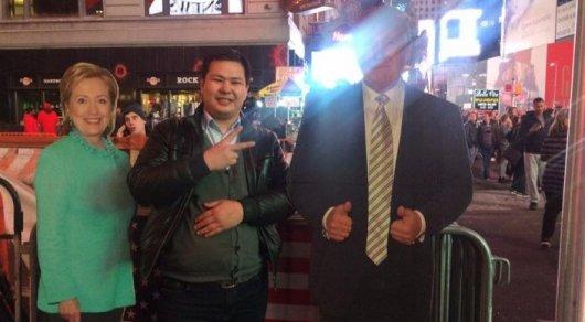 Казахстанец о выборах в США: Люди устраивают дебаты на заполненном Таймс-сквер