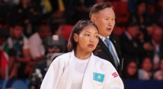 Казахстанку признали лучшей вмире дзюдоисткой