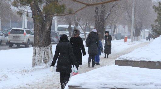 Вчетырех областях Казахстана объявлено штормовое предупреждение