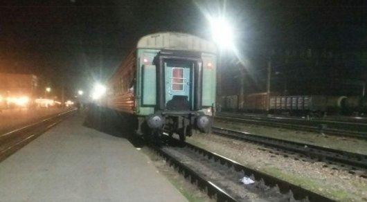 Радиоактивный груз перевозил пассажир поезда Мангышлак— Алматы