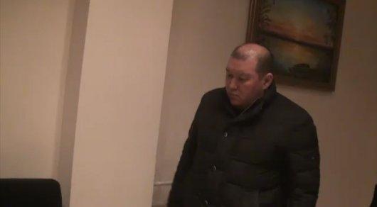Появилось видео задержания сына экс-спикера Мажилиса Джакупова