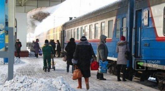 График движения 10 поездов будет изменен из-за ремонта железных дорог