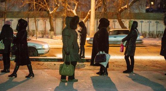 Погреться за 100 тенге предлагают в одном из казахстанских магазинов