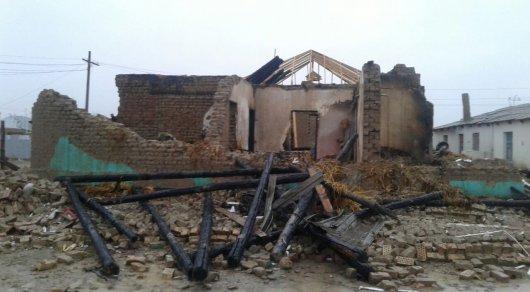 Пострадавшей от взрыва газового баллона семье в Кызылорде выпало новое испытание