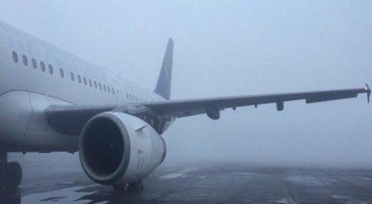 Ваэропортах Алматы иАстаны произошла задержка двадцати рейсов