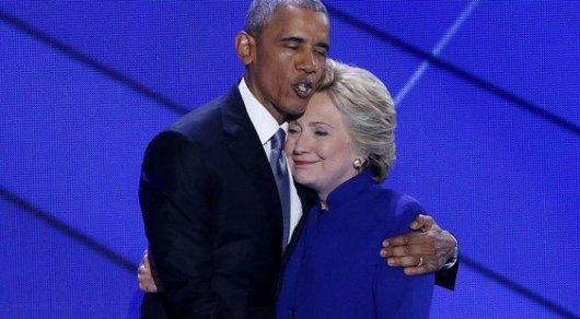 Обама призвал Хиллари Клинтон нетребовать пересчета голосов