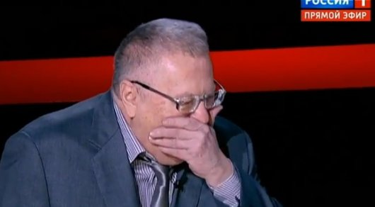 Анекдот Жириновского про Меркель иОбаму вэфире «взорвал» зал