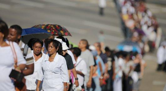 На Кубе началась масштабная церемония прощания с Фиделем Кастро
