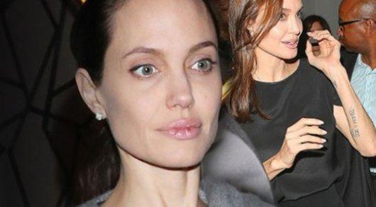Анджелина Джоли после развода похудела до34 килограммов