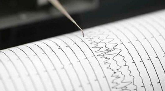 В КНР, в482км отАлматы, случилось землетрясение магнитудой 4.5