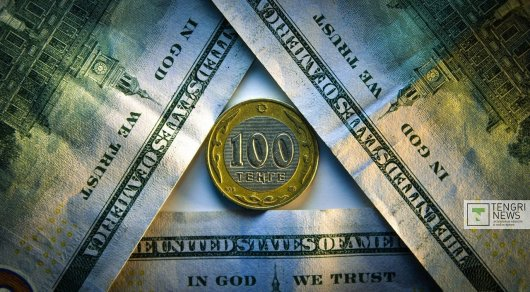 Доллар упал вцене практически на7 тенге