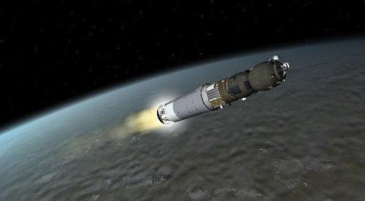 В «Прогресс» перед трагедией врезалась неотключившаяся ступень ракеты-носителя