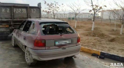 ВАктау неизвестные разгромили несколько авто