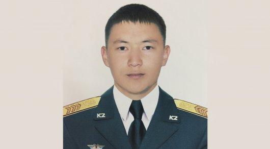 Сержант Жанибек Есеркепов. Фото пресс-службы Минобороны РК