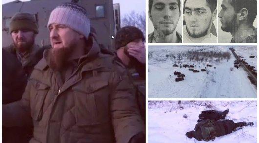 ВГрозном под личным управлением Кадырова убиты пятеро боевиков