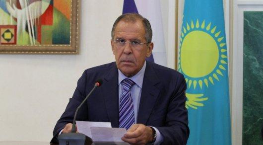 Лавров: РФ, Турция иИран готовы стать гарантами мира вСирии