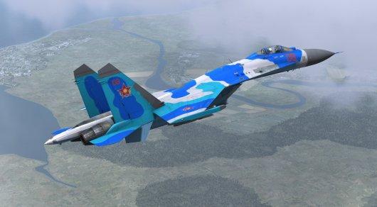 ВКазахстане разбился истребитель Су-27