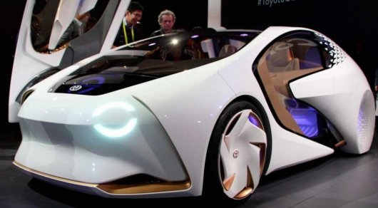 Четырёхколёсный «умник» свыставки CES— Тойота Concept-i