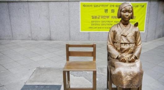 Япония отозвала посла вЮжной Корее из-за монумента жертвам насилия