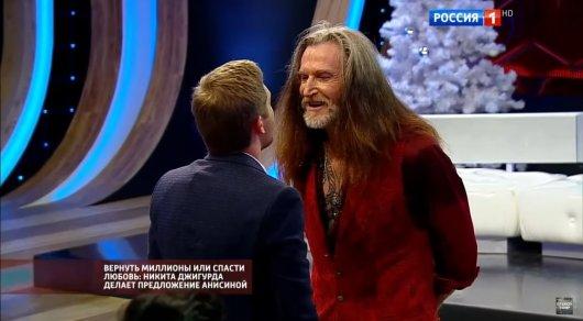 Никита Джигурда подрался сведущим Дмитрием Корчевниковым
