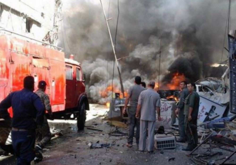 ВДамаске в итоге  теракта погибли шесть человек