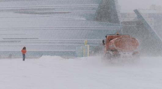 Погода без осадков предполагается набольшей части Казахстана 14января