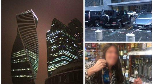 18-летний парень упал снебоскреба в«Москва-Сити» наприпарковавынный Gelandewagen