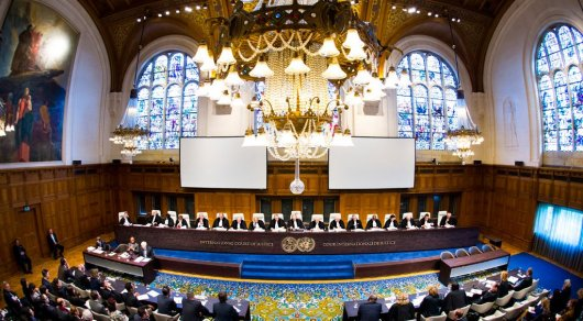 Украина подала иск против РФ вМеждународный суд ООН вГааге
