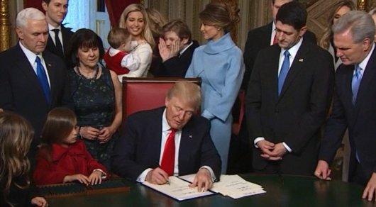 Новые власти США подтвердили намерение выйти изТранстихоокеанского партнерства