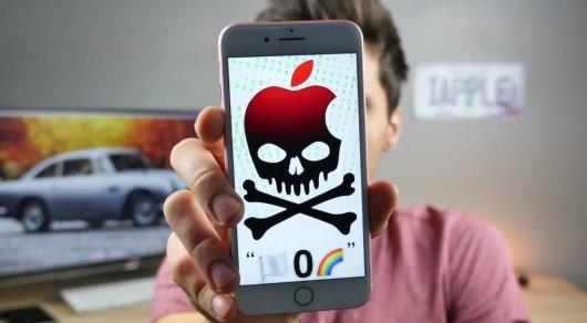 Блогер узнал, как можно накороткий срок вывести изстроя любой iPhone либо iPad