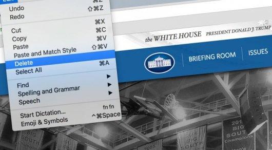 Насайте Белого дома будут публиковать информацию о заработной плате служащих