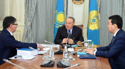 Назарбаев встретился сминистром образования инаукиРК Ерланом Сагадиевым