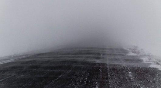 Вкаких областях Казахстана закрыты дороги из-за сильной метели