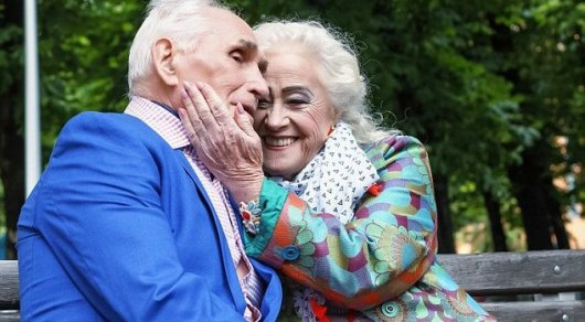 Реальный секс стариков в 80 лет