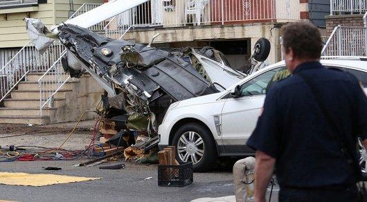 В США частный самолет упал на жилой квартал, чтобы не задеть автозаправку