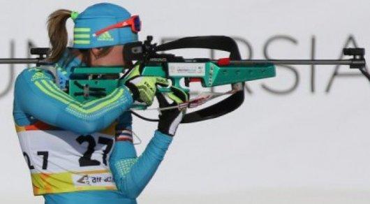 Казахстанская биатлонистка Галина Вишневская выиграла «золото» Азиады