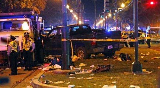 Угрозы жизни пострадавших при наезде автомобиля в Новом Орлеане нет – СМИ