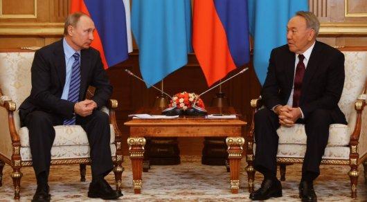 Путин иНазарбаев покатались нагорных лыжах