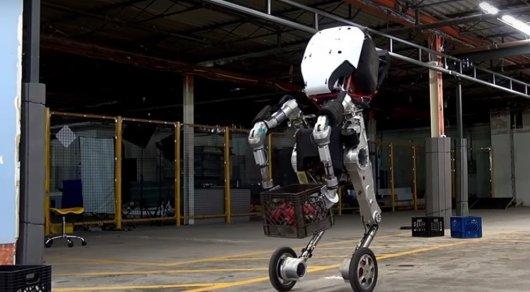 ВMIT показали робота, умеющим запрыгивать наметровые препятствия