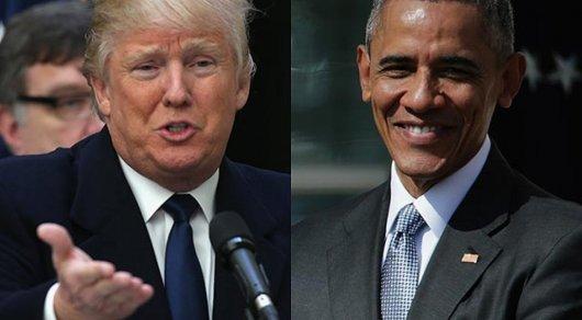 Трамп обвинил Барака Обаму в утечках информации из Белого дома