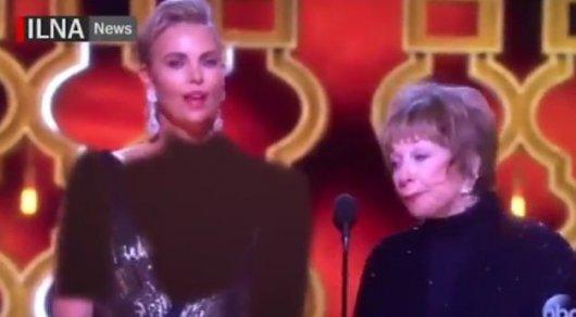 ИранскоеТВ «приодело» Шарлиз Терон на«Оскаре»
