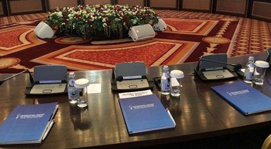 Источник назвал дату проведения нового раунда переговоров поСирии вАстане