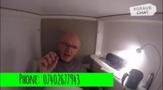 Ирландец добровольно ляжет вмогилу ради наркоманов