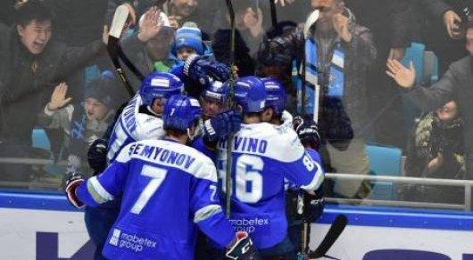 «Барыс» вышел во 2-ой раунд плей-офф континентальной хоккейной лиги