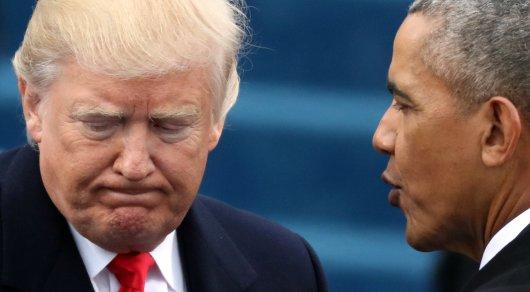 Обама отверг обвинения в прослушке телефона Трампа