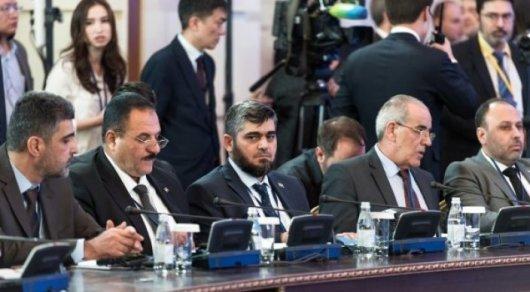 Астана проведет еще одну встречу поСирии 14