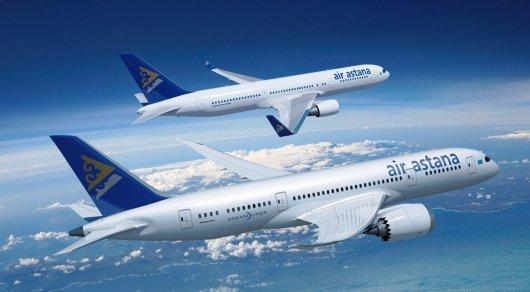 Ваэропорт Алматы вернулся борт Air Astana из-за неисправности всистеме навигации